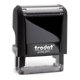 Sello Personalizado Trodat 4911 4.0 + 4 Lineas Congreso