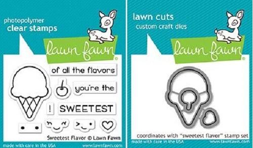 sello + suaje lawn fawn scrapbook scrap sweetest flavor