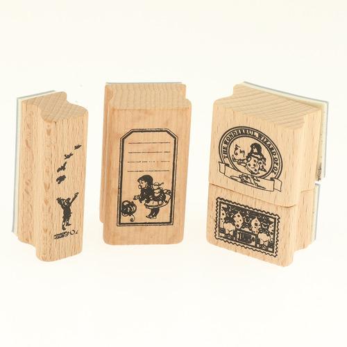 sellos arte papelería