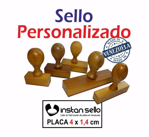 sellos automatico o de madera personalizados oferta