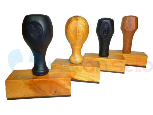 sellos automatico y de madera personalizados