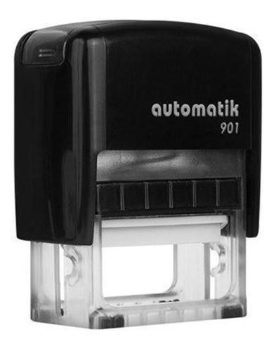 sellos automáticos dtmaq 901 18 x 38 mm colores variados x1u