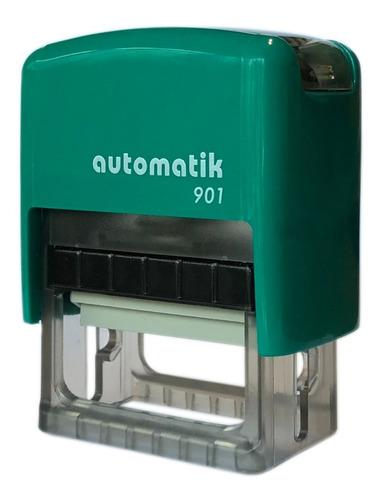 sellos automáticos dtmaq 901 18x38mm x5 colores sin eleccion