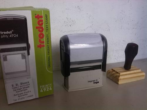 sellos automáticos entrega en 4 horas trabajamos día y noche
