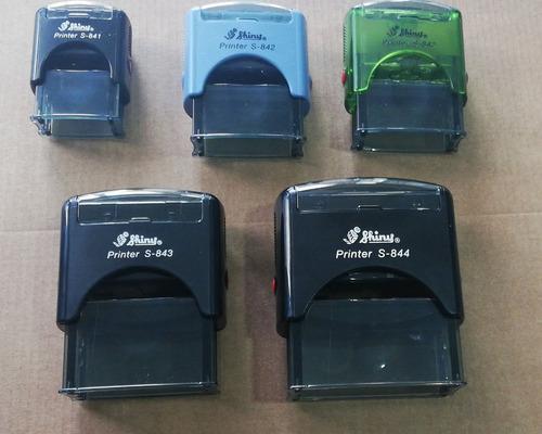 sellos  automáticos, sellos de madera, sellos secos