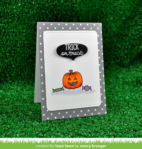 sellos clear lawn fawn scrapbook manualidades spooktacular