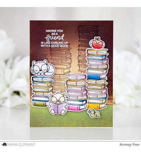 sellos clear mama elephant scrapbook manualidades lectores