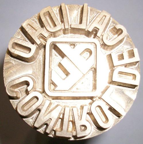 sellos de bronce para madera o cuero en 2d y 3d