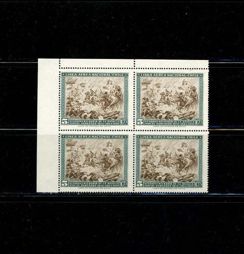 sellos de chile. 150 años batalla de rancagua. año 1965.