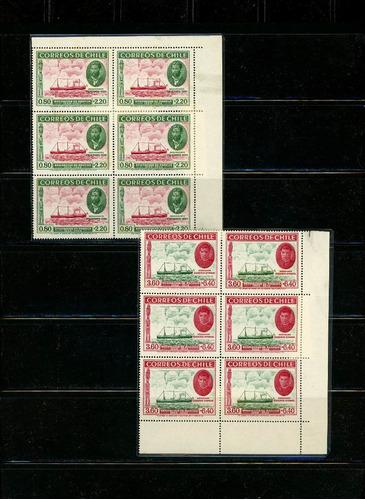 sellos de chile. serie ocupación isla de pascua. 1940. s/f.