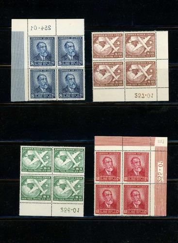 sellos de chile. serie unión postal universal. 1874-1949.
