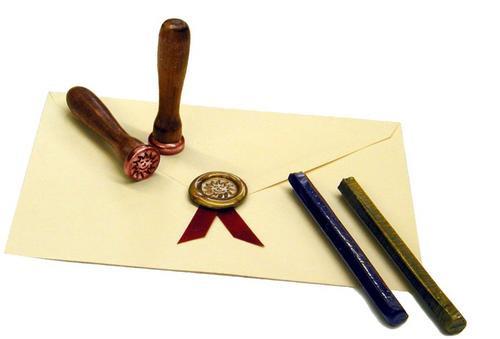 sellos de lacre personalizados para invitaciones a bodas