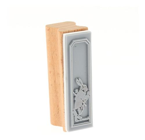 sellos de madera de arte vintage, papelería creativa en