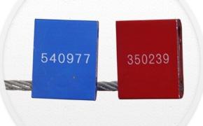 sellos de seguridad precintos cable 14x5.0 100 piezas caja