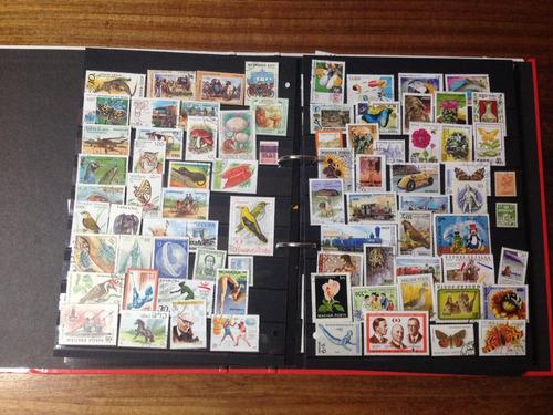sellos del mundo - 1201 sellos coleccion completa