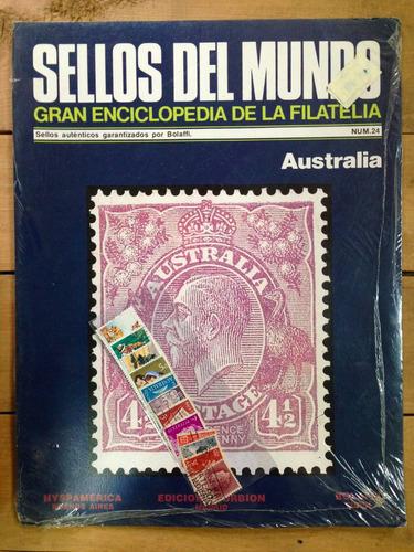 sellos del mundo enciclopedia de la filatelia australia nº24