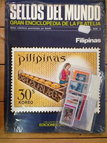 sellos del mundo-enciclopedia de la filatelia- filipinas nº5