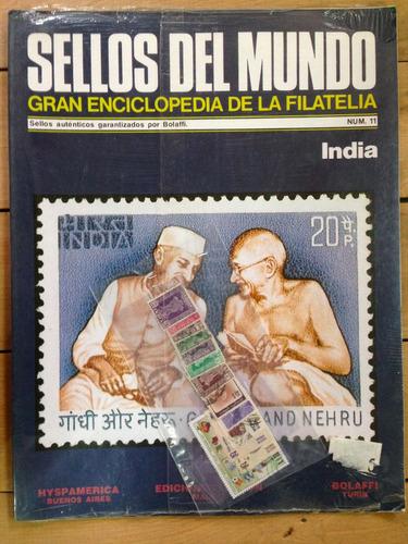 sellos del mundo- enciclopedia de la filatelia- india nº11