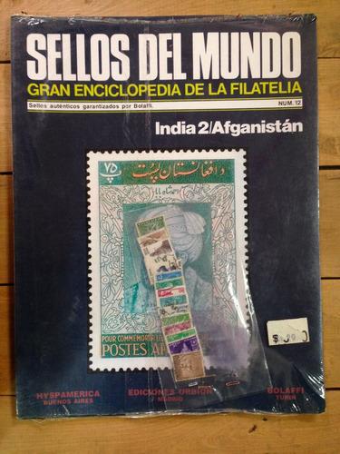 sellos del mundo- enciclopedia de la filatelia- india nº12