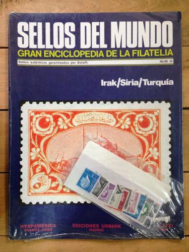 sellos del mundo enciclopedia de la filatelia irak nº16