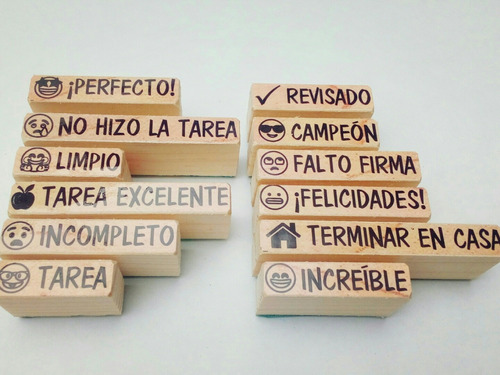 sellos emojis textos para calificar  español 11 sellitos didácticos em-1
