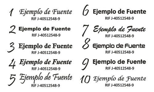 sellos, (mediano) personalizado