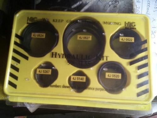 sellos orrines hidraulicos caterpillar originales