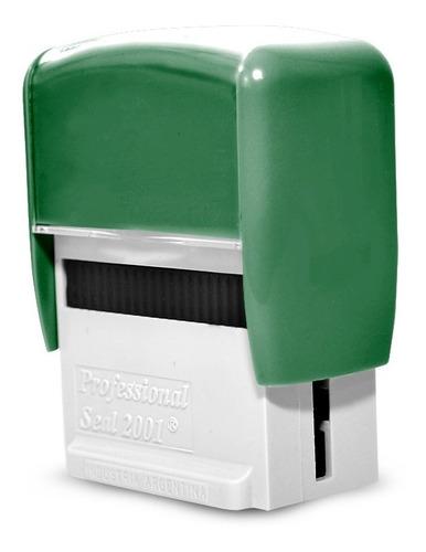 sellos personalizados automatico urgente texto gratis s/carg