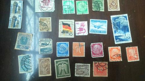 sellos postales alemanes de todo