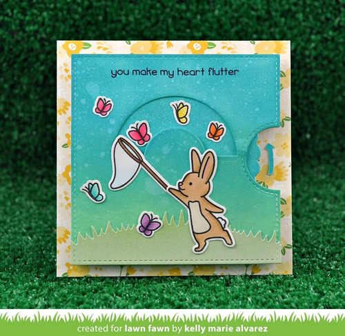 sellos + suajes lawn fawn scrapbook eggstra amazing easter
