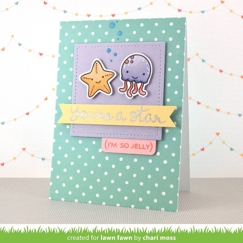 sellos + suajes lawn fawn scrapbook manualidades so jelly