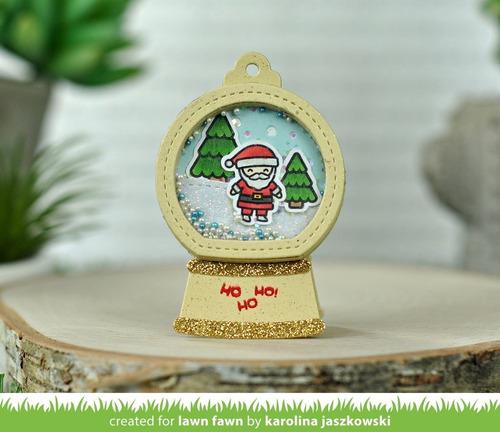 sellos + suajes lawn fawn scrapbook manualidades tiny christmas