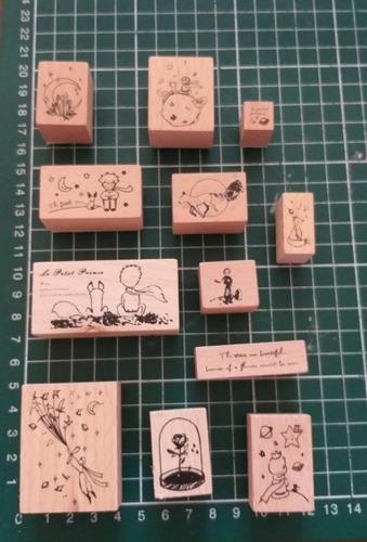 sellos timbre de goma set el principio scrapbook oficina