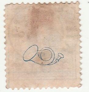 selo antigo suécia - ano 1887 - ab