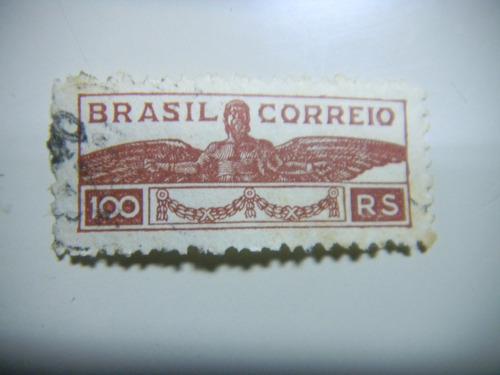 selo brasil  - brasil correio 100 rs