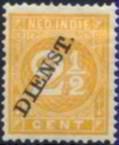 selo india holandesa,selo regular sobret dienst(serviço)1883