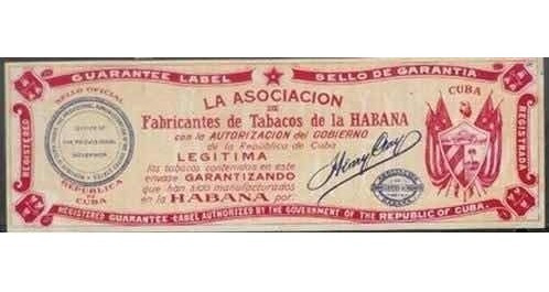 selo marrom chocolate imposto antigo zignauko