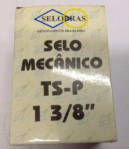 selo mecânico selobras 1.3/8  inox / buna - 40 a 90°c