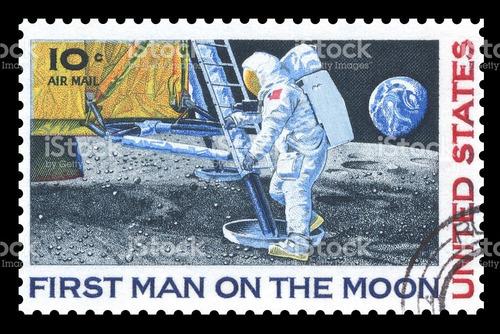 selo postal astronauta 5sib zignauko