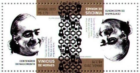 Resultado de imagem para selo de VINICIUS DE MORAES