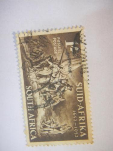 selos africa do sul - 300 anos da chegada de van riebeeck