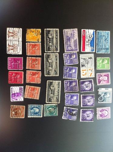 selos antigos e raros estados unidos