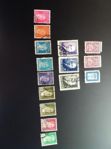 selos antigos raros polonia