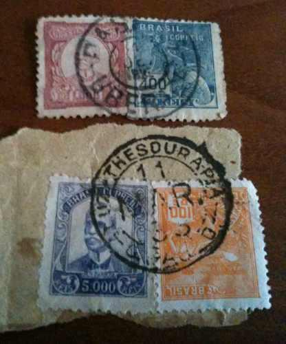 selos antigos rui barbosa