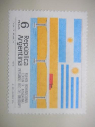 selos argentina - ponte internacional entre colon e paysandu