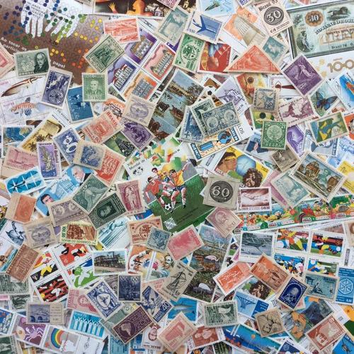selos comemorativos novos