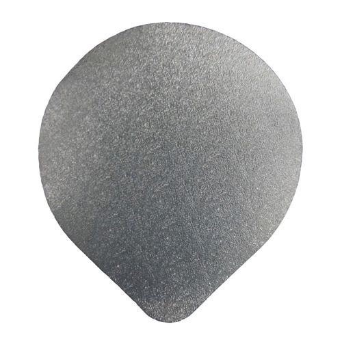 selos de alumínio 75 mm, pacote com 100 gramas