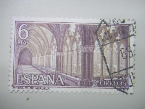 selos espanha - castelos e abadias - sta mª de veruela -1967