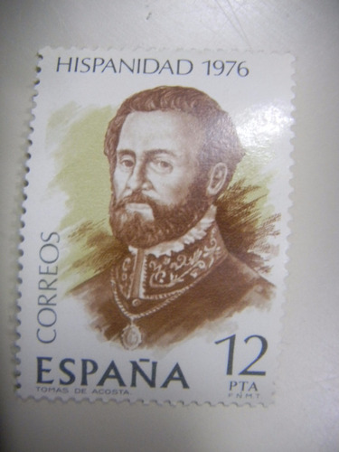 selos espanha - hipanidad - costa rica - 1976