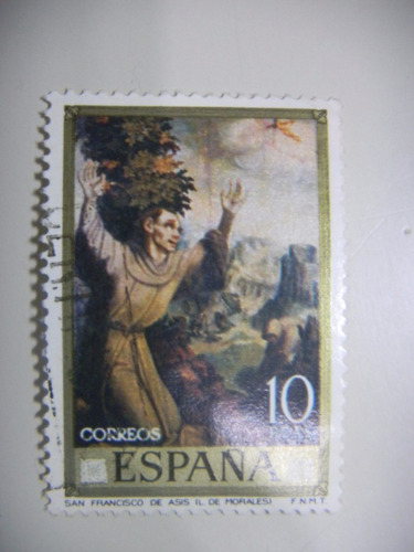 selos espanha - pinturas de lius de morales - dia do selo 70